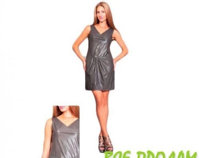 Платье женское кож. зам