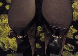 Фирменные кожаные туфли Gabor .в хорошем состоянии.размер 41.стелька 26 см.